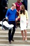 Великобритания встретила рождение принцессы Шарлотты